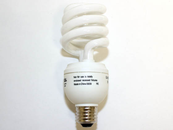 Overdrive 23W/ODSPDIM 100W Equivalent, 23 Watt, 120 Volt Dimmable Warm White Spiral CFL Bulb.