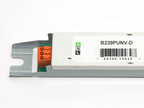 Universal B239PUNV-D B239PUNV-D001C Electronic High Output Ballast 120V to 277V for (2) F39T5HO Lamps