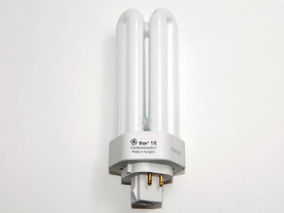 GE GE34397 F26TBX/SPX30/A/4 (4-Pin) 26 Watt, 4-Pin Warm White Triple Twin Tube CFL Bulb