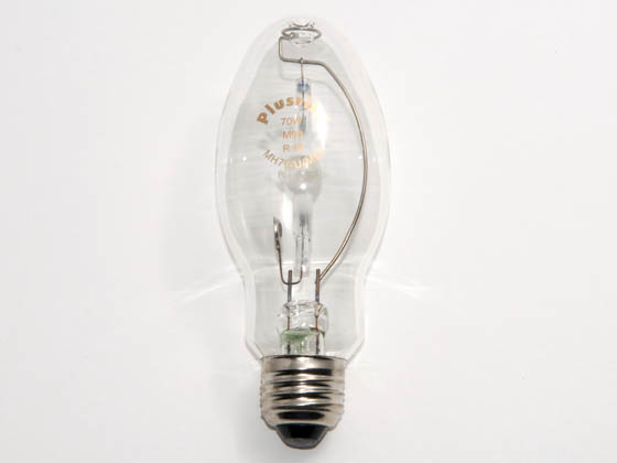 Plusrite FAN1002 MH70/ED17/U/4K/MED 70 Watt, Clear ED17 Cool White Metal Halide Lamp