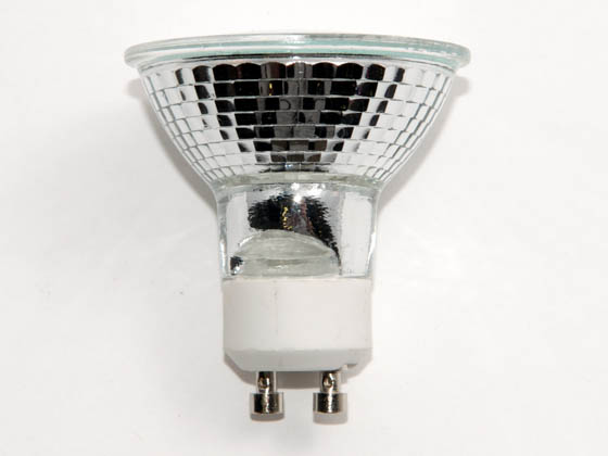 Plusrite FAN3462 JDR35/FL/C/GU10 35W 120V MR16 Halogen Flood FMW Bulb