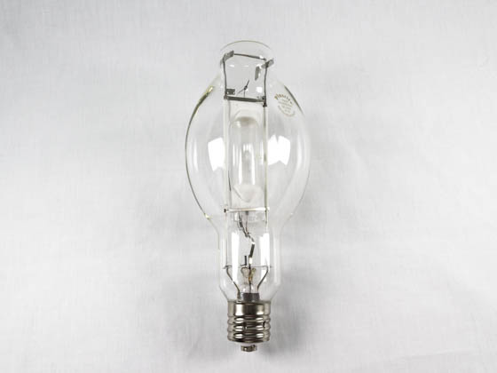Plusrite FAN1508 MS750/BT37/PS/HBU/4K 750W Clear BT37 Cool White Metal Halide Bulb