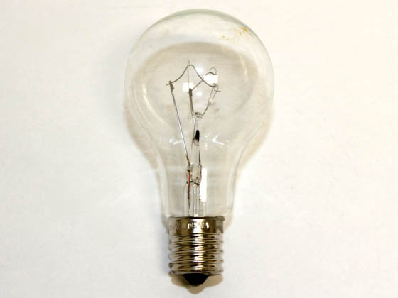 Bulbrite B104261 60A15C/E17 (Clear, Intermediate Base) DISCONTINUED 60 Watt, 130 Volt A15 Clear Intermediate Bulb