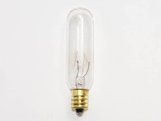 Bulbrite B707415 15T6/4 (145V) 15W 145V T6 Clear Tube E12 Base