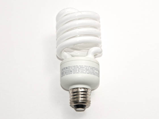 TCP TEC80102750 80102750K 27W Bright White Spiral CFL Bulb, E26 Base