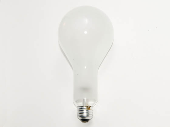 Philips Lighting 143057 200PS30/RS/TF  (120-130V) Philips 200W 120V to 130V PS30 Rough Service Safety-coated Bulb