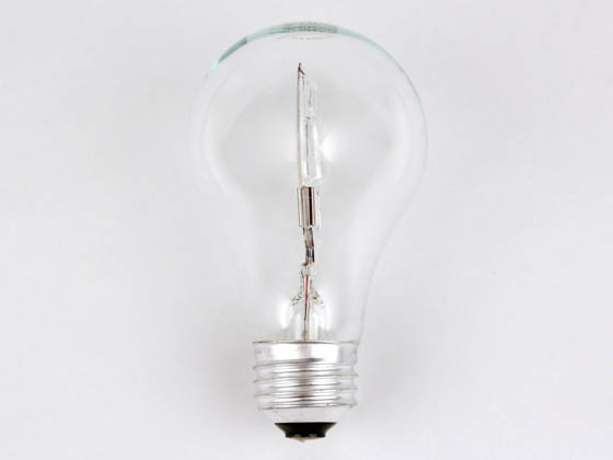 Bulbrite 115028 29A19/CL/ECO 29W 120V A19 Halogen Clear Bulb