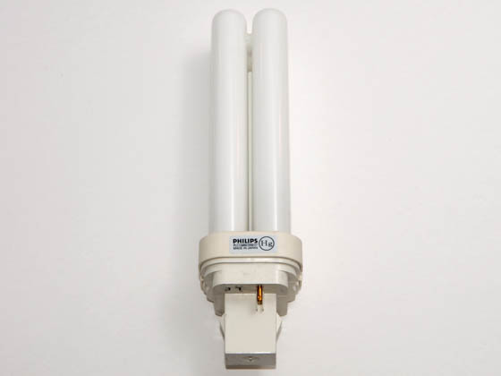 Philips Lighting 241695 PL-C 15MM/28W/827  (2-Pin) Philips 28W 2 Pin GX32d3 Very Warm White Double Twin Tube 15mm CFL Bulb