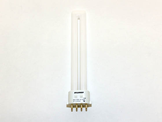 Sylvania SYL20314 CF13DS/E/827 13W 4 Pin 2GX7 Very Warm White Single Twin Tube CFL Bulb
