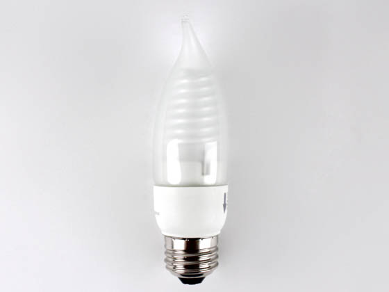 TCP TEC8TF05F 5W Cold Cathode Frost Flame Tip 5 Watt,  C11 Cold Cathode Lamp