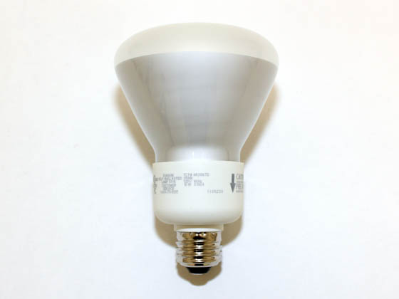 TCP 4R3016TD35K 65 Watt Incandescent Equivalent, 16 Watt, 120 Volt R30 Neutral White Dimmable Reflector CFL Bulb.  SEE ADDITIONAL INFORMATION SECTION for CFL Dimming Performance Information.