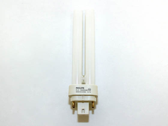 Philips Lighting 405563 PL-C 13W/35/4P/PRO Philips 13 Watt 4-Pin Neutral White Double Twin Tube CFL Bulb