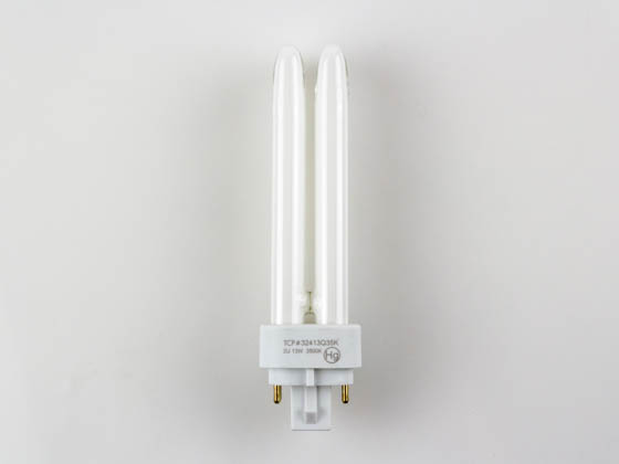 TCP TEC32413Q-35K 32413Q35K 13W Neutral White 4 Pin Quad CFL Bulb