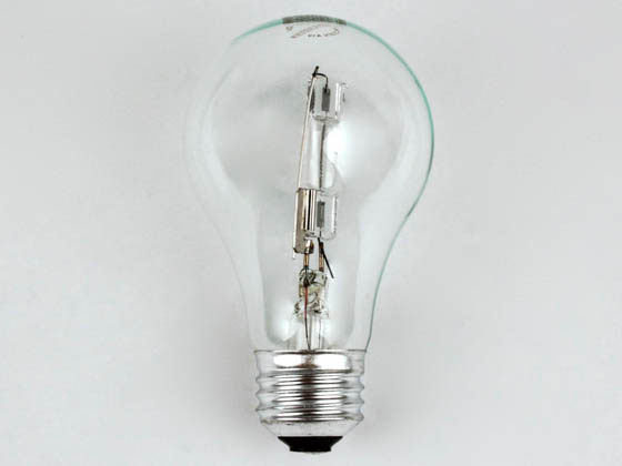 Bulbrite 115052 53A19/CL/ECO 53W 120V A19 Halogen Clear Bulb