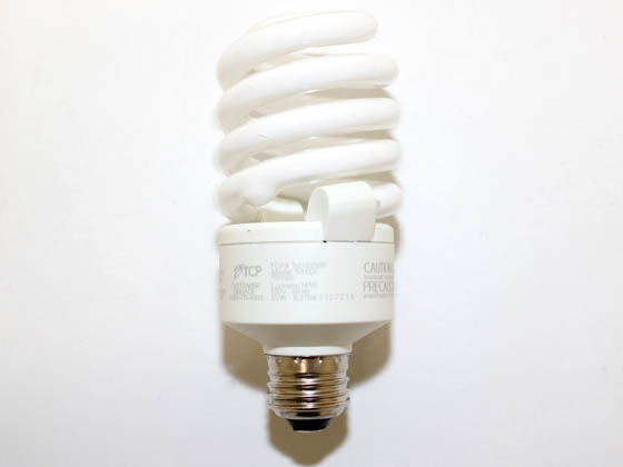 TCP TEC50123-50K 5012350K 23W Bright White Spiral Dimmable CFL Bulb