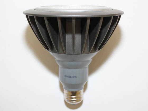 Philips Lighting 418558 18PAR38/END/F25 3000 OD Philips 100 Watt Equivalent, 17 Watt, 120 Volt NON-DIMMABLE 25,000-Hr 3000K Soft White LED PAR38 Outdoor Bulb