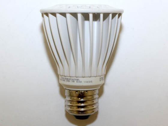 TCP LED9E26P2027KNFL 9 Watt, 120 Volt DIMMABLE 50,000-Hr LED PAR20 Bulb - Similar to Incandescent