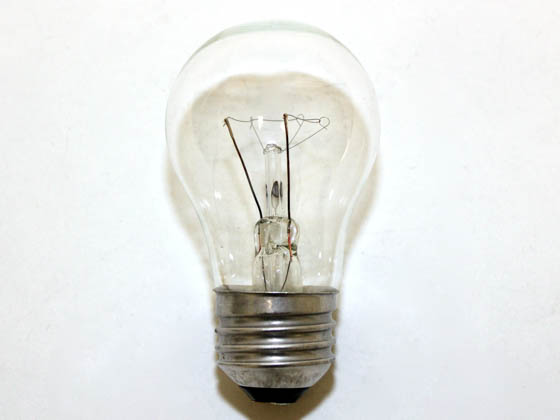 Philips Lighting 299990 BC-40A15/LL (120V, Oven) Philips 40W 120V A15 Clear Appliance Bulb, E26 Base