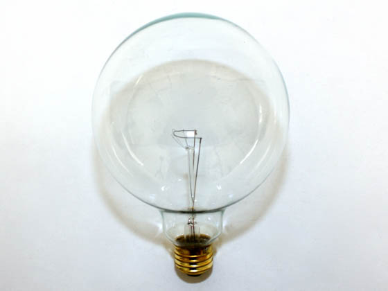 Bulbrite 351100 100G40CL 100W 125V G40 Clear Globe Bulb, E26 Base