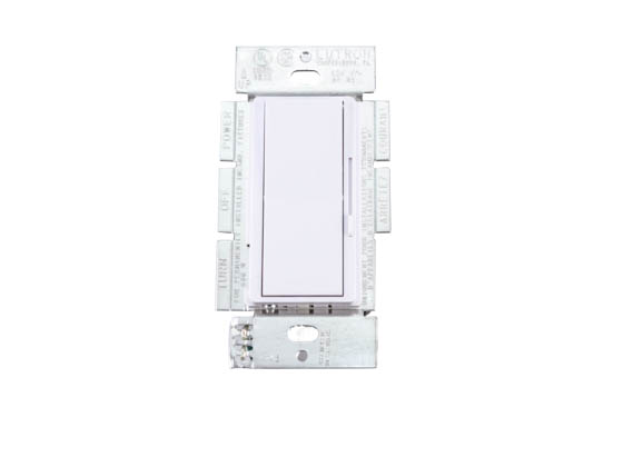 Lutron Electronics DV-600P-WH Lutron Diva Single Pole Dimmer, 600 Watt
