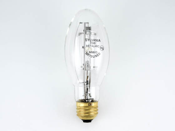 Sylvania SYL64547 MP70/U/MED 70W Clear ED17 Protected Cool White Metal Halide Bulb
