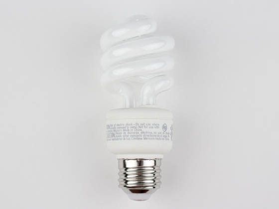TCP TEC801014-50K 80101450K 14W Bright White Spiral CFL Bulb, E26 Base