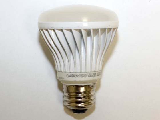TCP LED9E26R2027K 50 Watt Equivalent, 9 Watt, 120 Volt DIMMABLE 25,000-Hr 2700K Warm White LED R20 Bulb