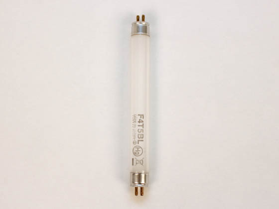 Ushio U3000105 F4T5/BL 4.5W 6in T5 Black Lite Fluorescent Tube
