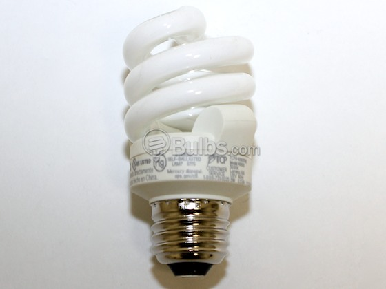 TCP TEC48909-50K 48909-50 (E26 Base, 5000K) 40 Watt Incandescent Equivalent, 9 Watt, 120 Volt Bright White Spiral CFL Bulb