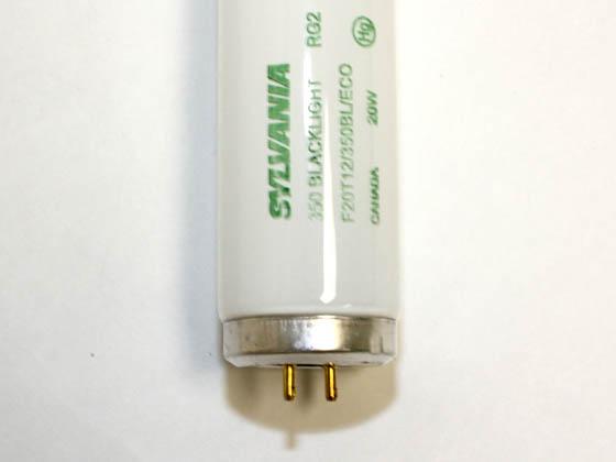 Sylvania 20w 24in T12 Black Light Fluorescent Tube