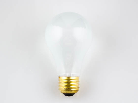 Bulbrite 107100 100A/RS 100 Watt, 130 Volt A19 Rough Service Bulb