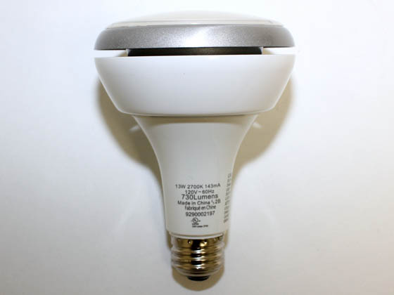 Philips Lighting 420554 13BR30/END/F90 2700 DIM Philips 65 Watt Equivalent, 13 Watt, 120 Volt DIMMABLE 2700K Warm White 25,000-Hr LED BR30 Bulb
