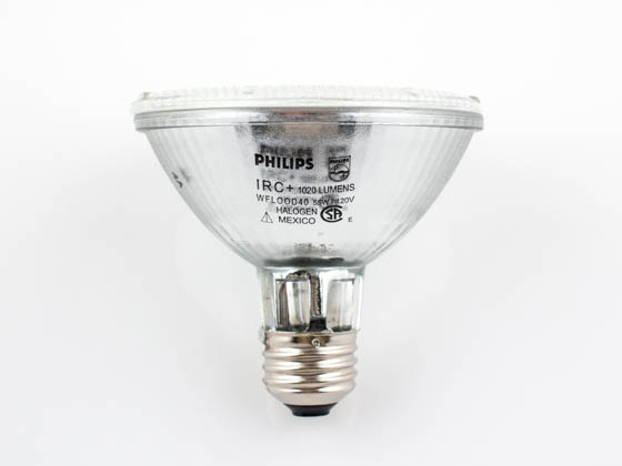 Philips Lighting 238576 55PAR30S/IRC+/WFL40 Philips 55W 120V Halogen Infrared PAR30 Wide Flood