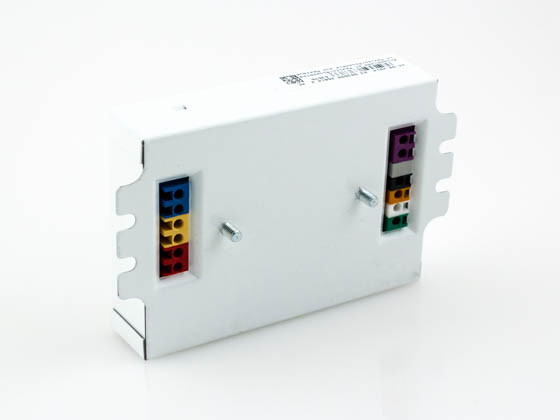 Lutron Electronics EC3DT4MWKU2S Lutron Studded Dimming Ballast 120V to 277V for (2) T4 26W or 32W 4 Pin CFL Bulb