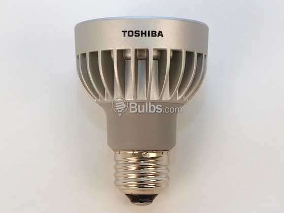 Toshiba 9P20/827SP8 60 Watt Equivalent, 8.6 Watt, 120 Volt DIMMABLE 40,000 Hr 2700K Warm White LED PAR20 Spot Bulb
