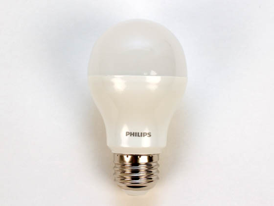 Philips Lighting 424895 A19 10.5W E26 3000K 120V Philips 10.5 Watt, 120 Volt NON-DIMMABLE LED A-Style Lamp