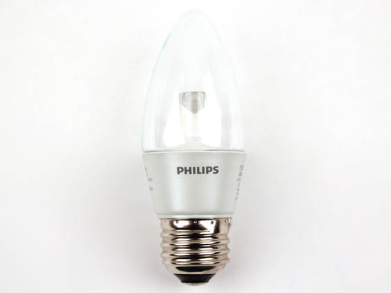 Philips Lighting 427815 3.5B12/END/2700-E26 DIM 8/1 Philips 25W Incandescent Equivalent, Dimmable, 25,000 Hour,  3.5 Watt, 120 Volt Warm White LED Decorative Bulb