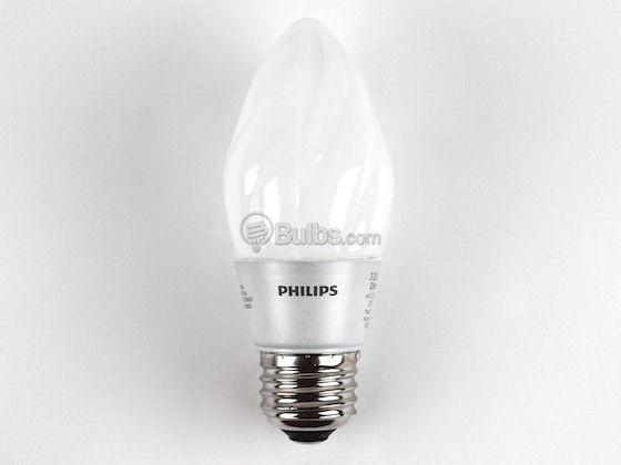 Philips Lighting 427237 4F15/END/2700-E26 DIM 8/1 Philips 40W Incandescent Equivalent, Dimmable, 25,000 Hour,  4 Watt, 120 Volt Warm White LED Decorative Bulb