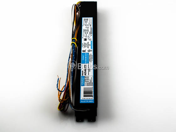 Advance Transformer ICN4S5490C2LSG35I ICN-4S54-90C-2LS-G Philips Advance Electronic High Output Ballast 120V to 277V for (4) F54T5