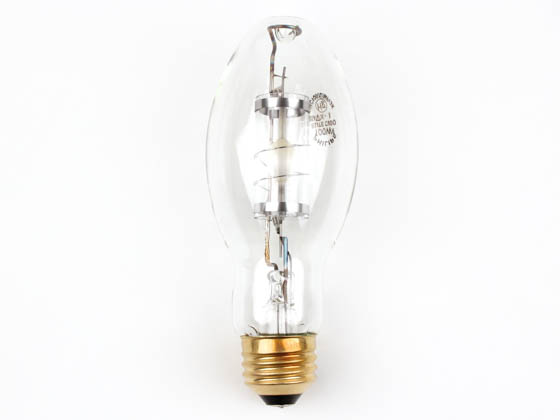 Philips Lighting 423673 100W ED17 U ELITE Philips 100W Clear ED17 Protected Warm White Metal Halide Bulb