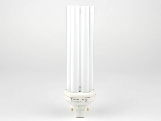 Philips Lighting 149021 PL-T 42W/35/4P/ALTO Philips 42W 4 Pin GX24q4 Neutral White Long Triple Twin Tube CFL Bulb