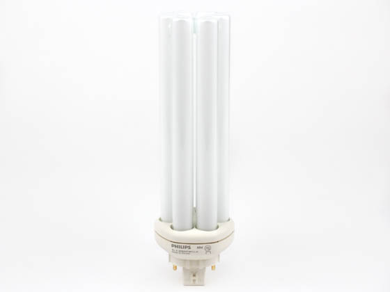 Philips Lighting 149005 PL-T 42W/827/4P/A/ALTO Philips 42W 4 Pin GX24q4 Very Warm White Triple Twin Tube CFL Bulb