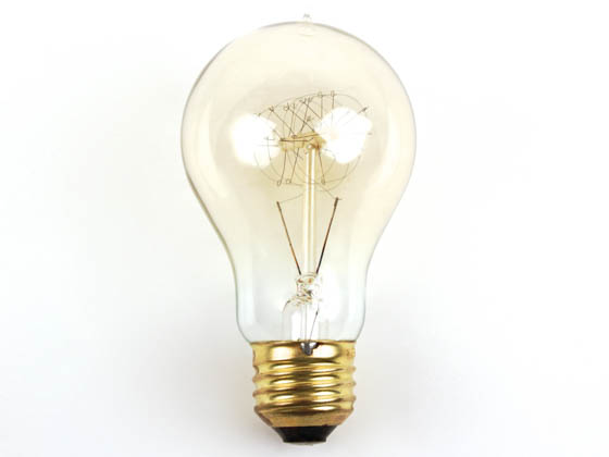 Bulbrite B136020 NOS60-VICTOR 60W 120V A19 Nostalgic Decorative Bulb, E26 Base