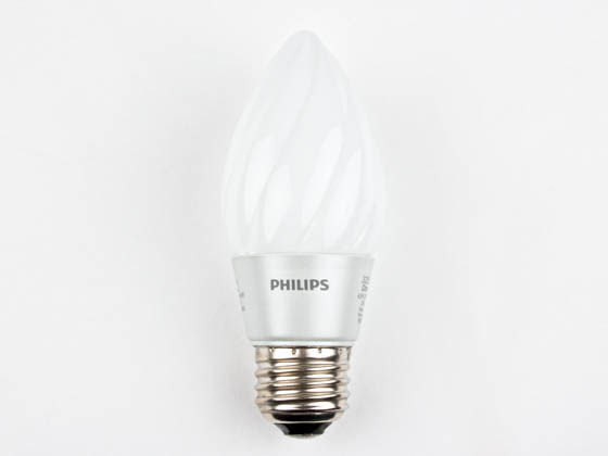 Philips Lighting 429357 4.5F15/END/2700-E26 DIM 8/1 Philips 40W Incandescent Equivalent, Dimmable, 25,000 Hour,  4.5 Watt, 120 Volt Warm White LED Decorative Bulb