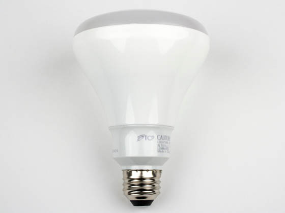 TCP LED10BR30D30K Dimmable 10W 3000K BR30 LED Bulb
