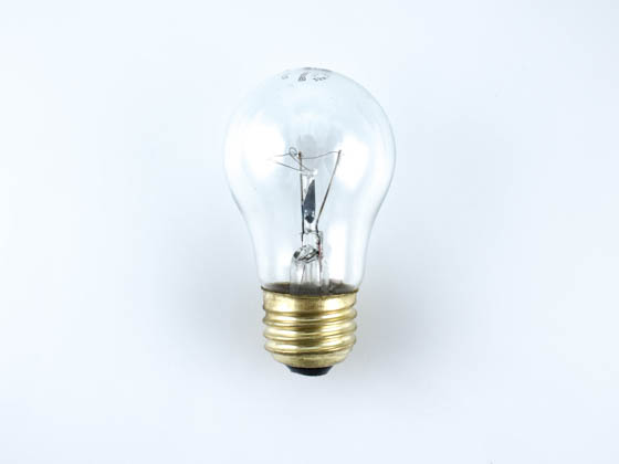 Bulbrite 104125 25A15/CL (130V) 25W 130V A15 Clear Appliance Bulb, E26 Base
