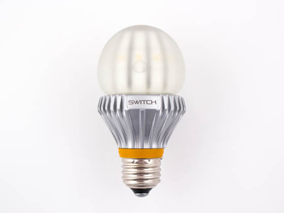 60 Watt Incandescent Equivalent, 13.5 Watt, 120 Volt Dimmable Frosted LED A-19 Lamp - Perfect ...