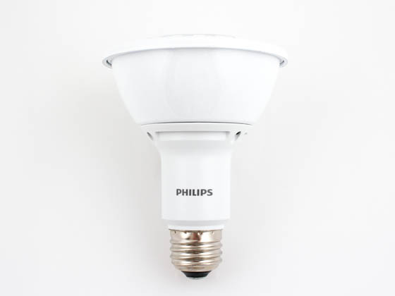 Philips Lighting 430165 12PAR30L/F36 3000 DIM AF RO Philips 75 Watt Equivalent, 12 Watt, 120 Volt Dimmable 25,000-Hr 3000K Soft White LED PAR30/L Bulb