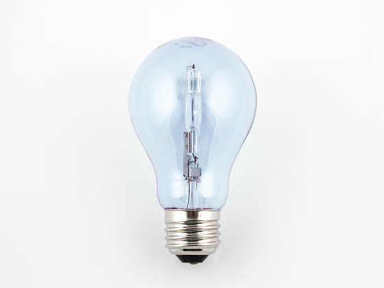 Bulbrite 616253 53A19CL/N/ECO 53 Watt, 120 Volt A19 Clear Natural Light Halogen Bulb