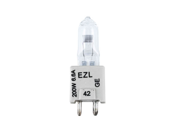 GE 15243 EZL 200W Bipin Halogen Airfield Lamp with GZ9.5 Base